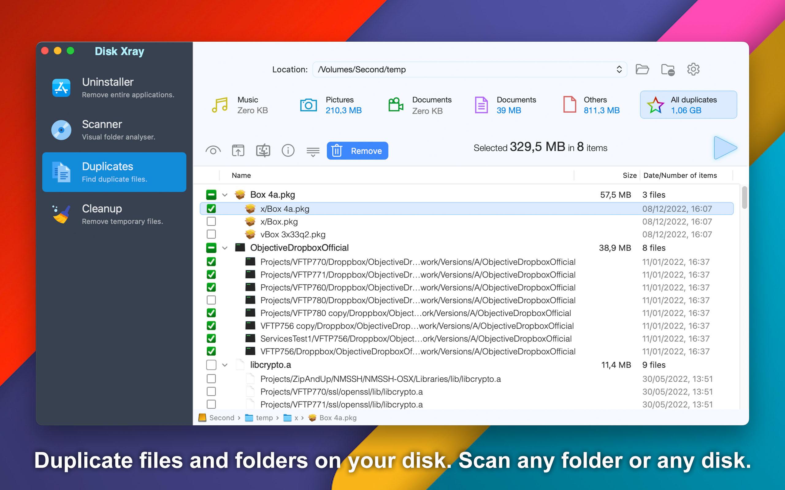 Disk Xray Mac 破解版 优秀的磁盘清理工具-麦氪派
